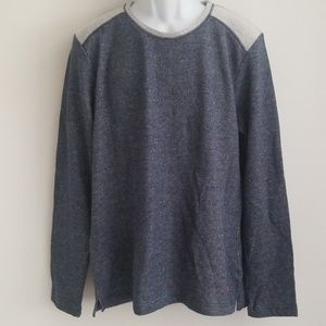 Tommy Bahama Gray Long Sleeve Light Weight Size M